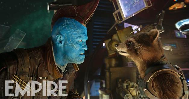 Michael Rooker & Bradley Cooper's Rocket in Guardians of the Galaxy Vol. 2