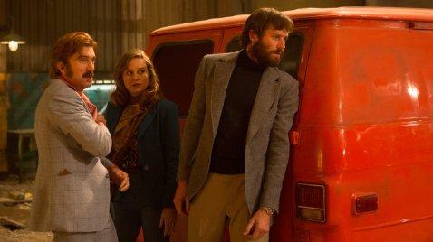 Sharlto Copley, Brie Larson & Armie Hammer in Free Fire