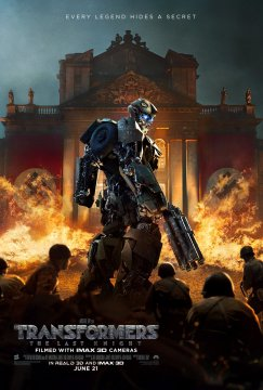 Transformers: The Last Knight Bumblebee Poster