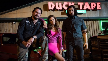 Channing Tatum, Riley Keough & Adam Driver for Logan Lucky