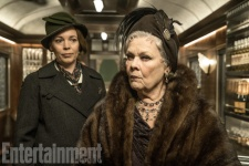 Olivia Colman & Judi Dench in Murder on the Orient Express