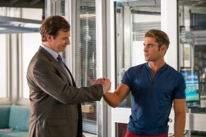 Rob Huebel & Zac Efron in Baywatch