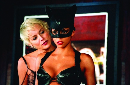 Sharon Stone & Halle Berry in Catwoman