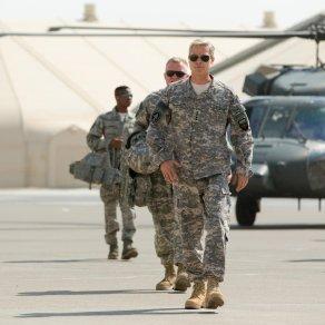 Brad Pitt in War Machine