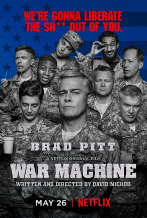 War Machine Poster