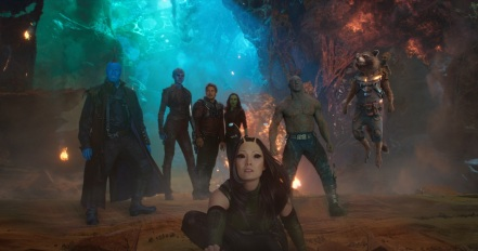The team in Guardians of the Galaxy Vol. 2