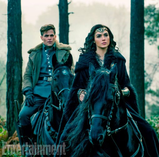 Chris Pine & Gal Gadot in Wonder Woman