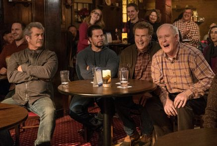 Mel Gibson, Mark Wahlberg, Will Ferrell & John Lithgow in Daddy's Home 2