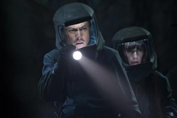 Ken Watanabe & Sally Hawkins in Godzilla