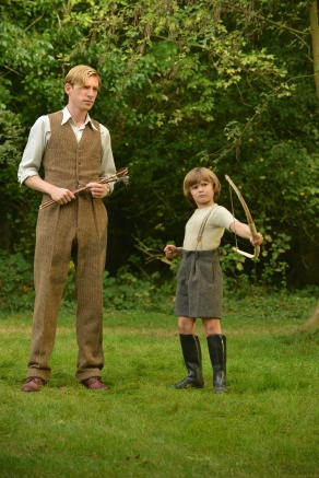 Domhnall Gleeson & Will Tinston in Goodbye Christopher Robin