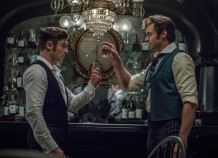 Zac Efron & Hugh Jackman in The Greatest Showman