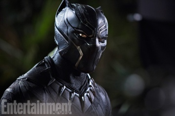 Chadwick Boseman as Black Panther in Black Panther