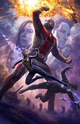 Ant-Man and the Wasp SDCC Poster