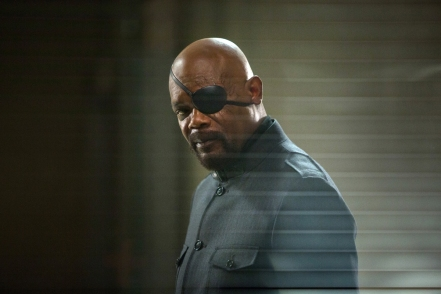 Samuel L. Jackson as Nick Fury in Captain America: The Winter Soldier