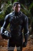 Chadwick Boseman as T'Challa in Black Panther