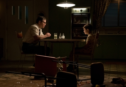 Matt Damon & Noah Jupe in Suburbicon