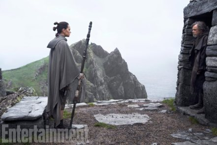 Writer-director Rian Johnson says one theme of The Last Jedi is the peril of meeting your heroes. In Part 1 of EW's cover story, we dive into the meeting between Luke Skywalker and Rey -- and their unexpected clash.