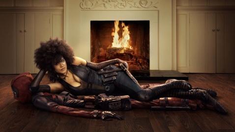 Zazie Beetz as Domino for Deadpool 2