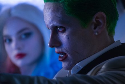 Jared Leto & Margot Robbie in Suicide Squad