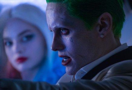 Jared Leto & Margot Robbie in Suicide Squad