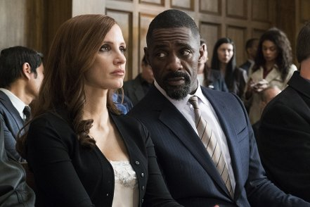 Jessica Chastain & Idris Elba in Molly's Game