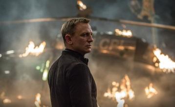 Daniel Craig as James Bond in Spectre