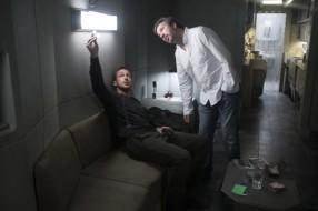 Ryan Gosling & Denis Villeneuve on set Blade Runner 2049