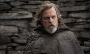 Mark Hamill as Luke Skywalker in Star Wars: The Last Jedi