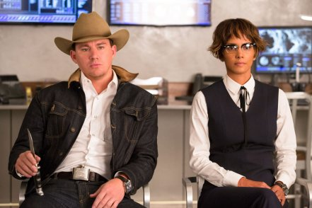 Channing Tatum & Halle Berry in Kingsman: The Golden Circle