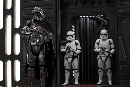 Gwendoline Christie as Captain Phasma in Star Wars: The Last Jedi