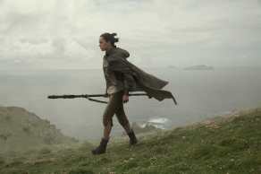 Daisy Ridley as Rey in Star Wars: The Last Jedi