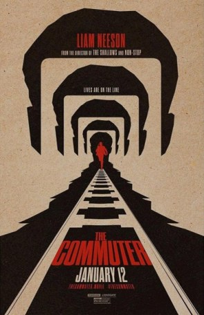 The Commuter Teaser Poster