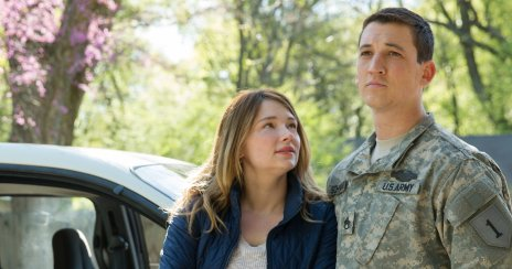 Haley Bennet & Miles Teller in Thank You for Your Service