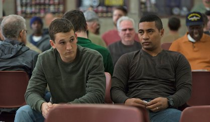 Miles Teller & Beulah Koale in Thank You for Your Service