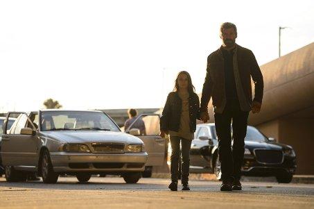 Dafoe Keen & Hugh Jackman in Logan