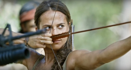 Alicia Vikander in Tom Raider