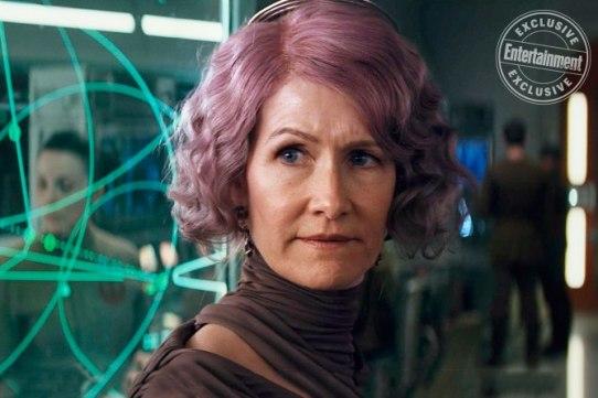 Laura Dern as Admiral Holdo in Star Wars: The Last Jedi
