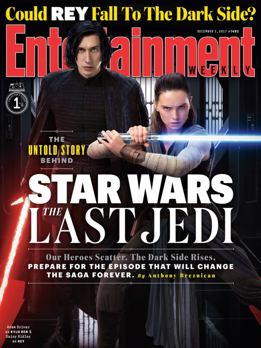 EW's 'Star Wars: The Last Jedi' Covers: Heroes Scattered, Dark Side Rises