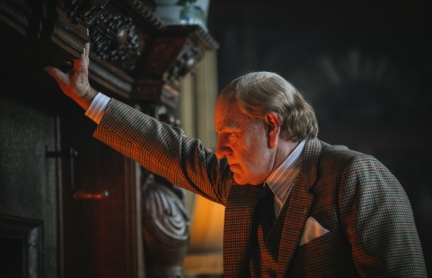 Kevin Spacey as J. Paul Getty in All the Money in the World