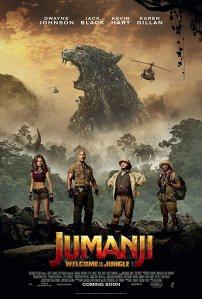 Jumanji: Welcome to the Jungle Official Poster