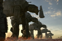 AT-M6 Walkers for Star Wars: The Last Jedi