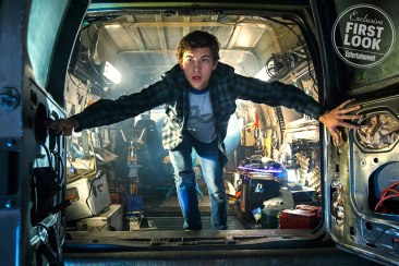 Tye Sheridan as Wade Watts in Ready Player One
