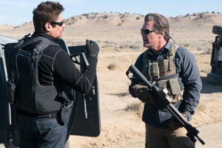 Benicio Del Toro and Josh Brolin in SICARIO 2: SOLDADO.