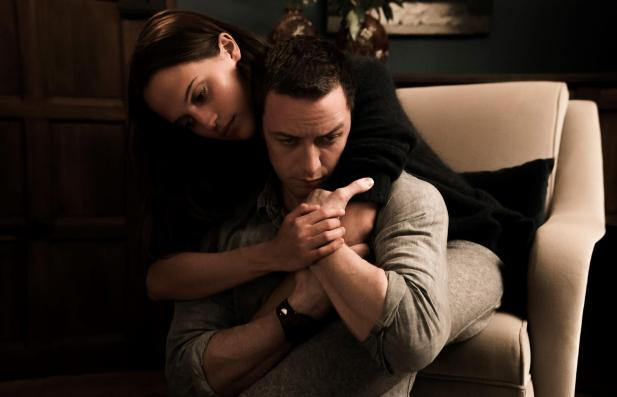 Alicia Vikander & James McAvoy in Submergence