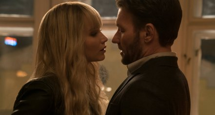Jennifer Lawrence & Joel Edgerton in Red Sparrow