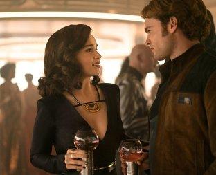 Emilia Clarke & Alden Ehrenreich in Solo: A Star Wars Story