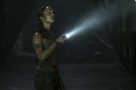Alicia Vikander as Lara Croft in Tomb Raider (2018)