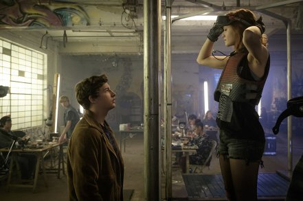 Tye Sheridan & Olivia Cooke in Ready Player One