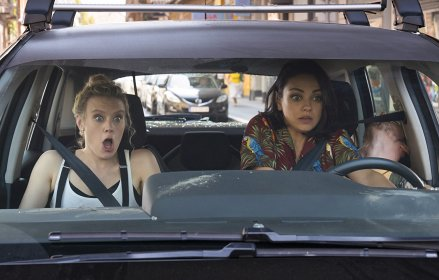Kate McKinnon & Mila Kunis in The Spy Who Dumped Me