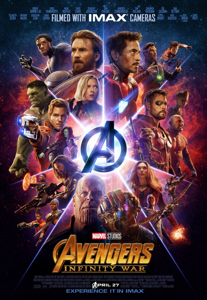 Avnegers: Infinity War IMAX Poster